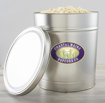 Coastal Maine Popcorn Decorative Tins