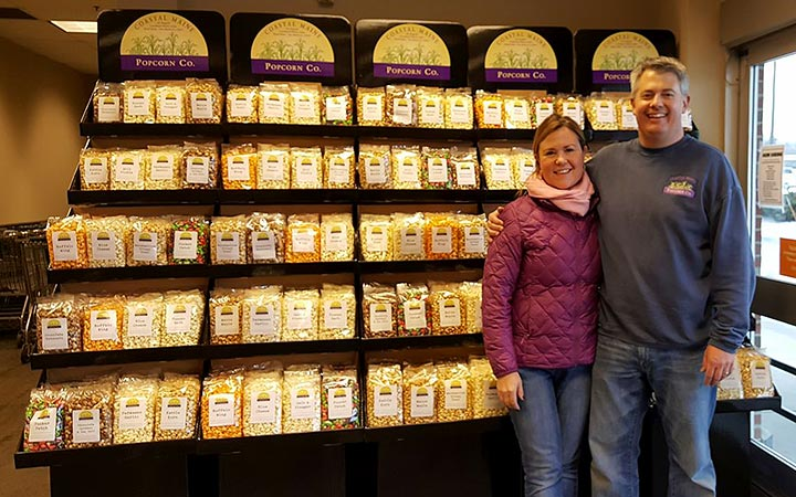Paul & Julie Roberts of Coastal Maine Popcorn